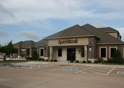 Construction building Spirit Bank